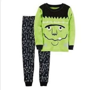 Carter's Frankenstein Pajamas Glow in the Dark 2T